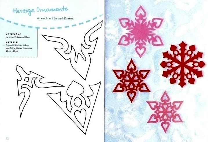 Поделки снежинки к новому году своими руками фото
